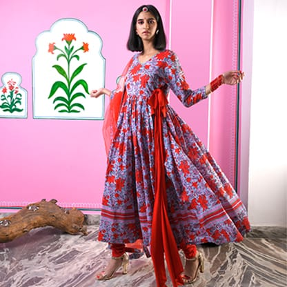 Floral Kurtas-Curated Collections