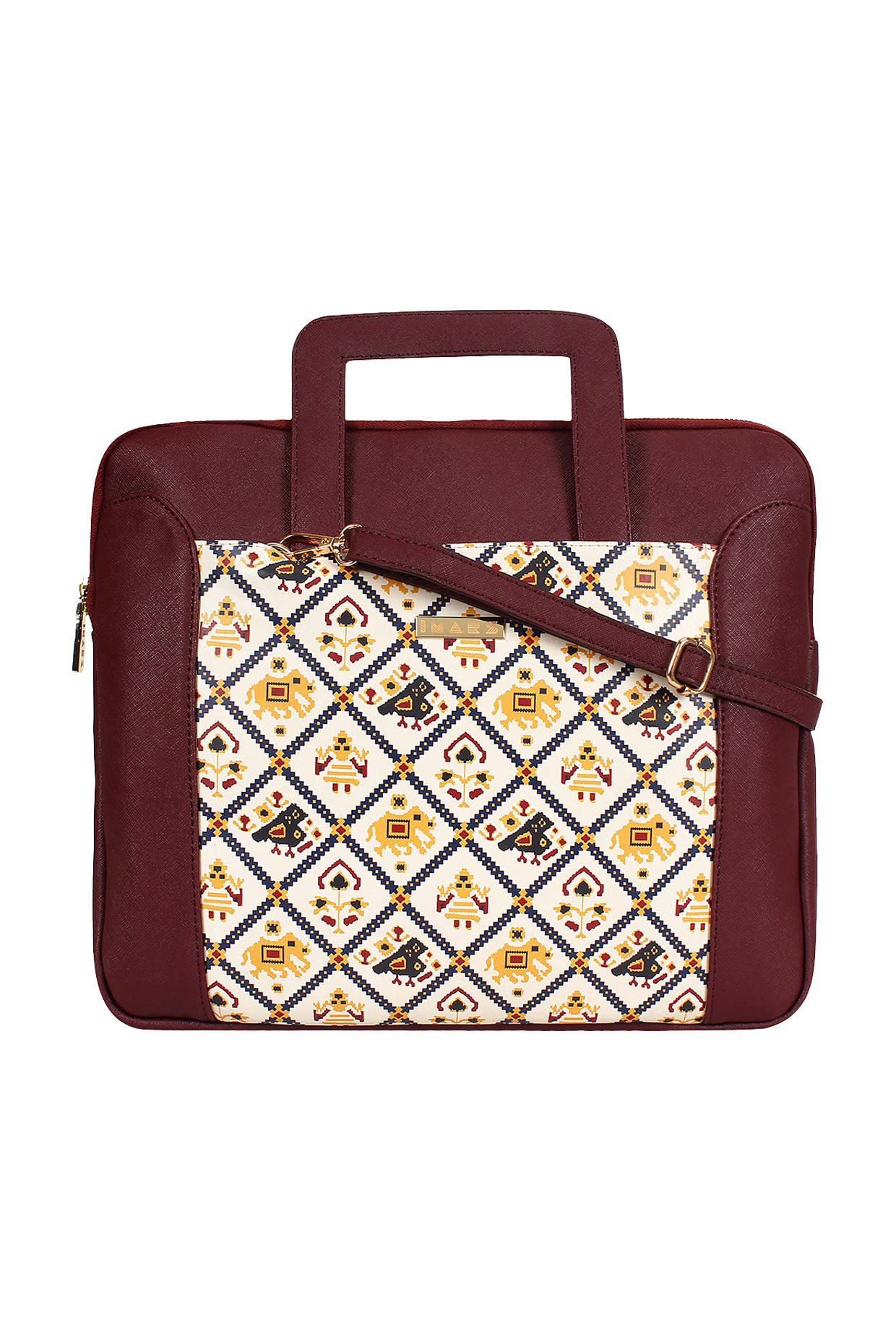 "Maroon 13.3"" Laptop Sleeve by Imars-Handpicked for You"