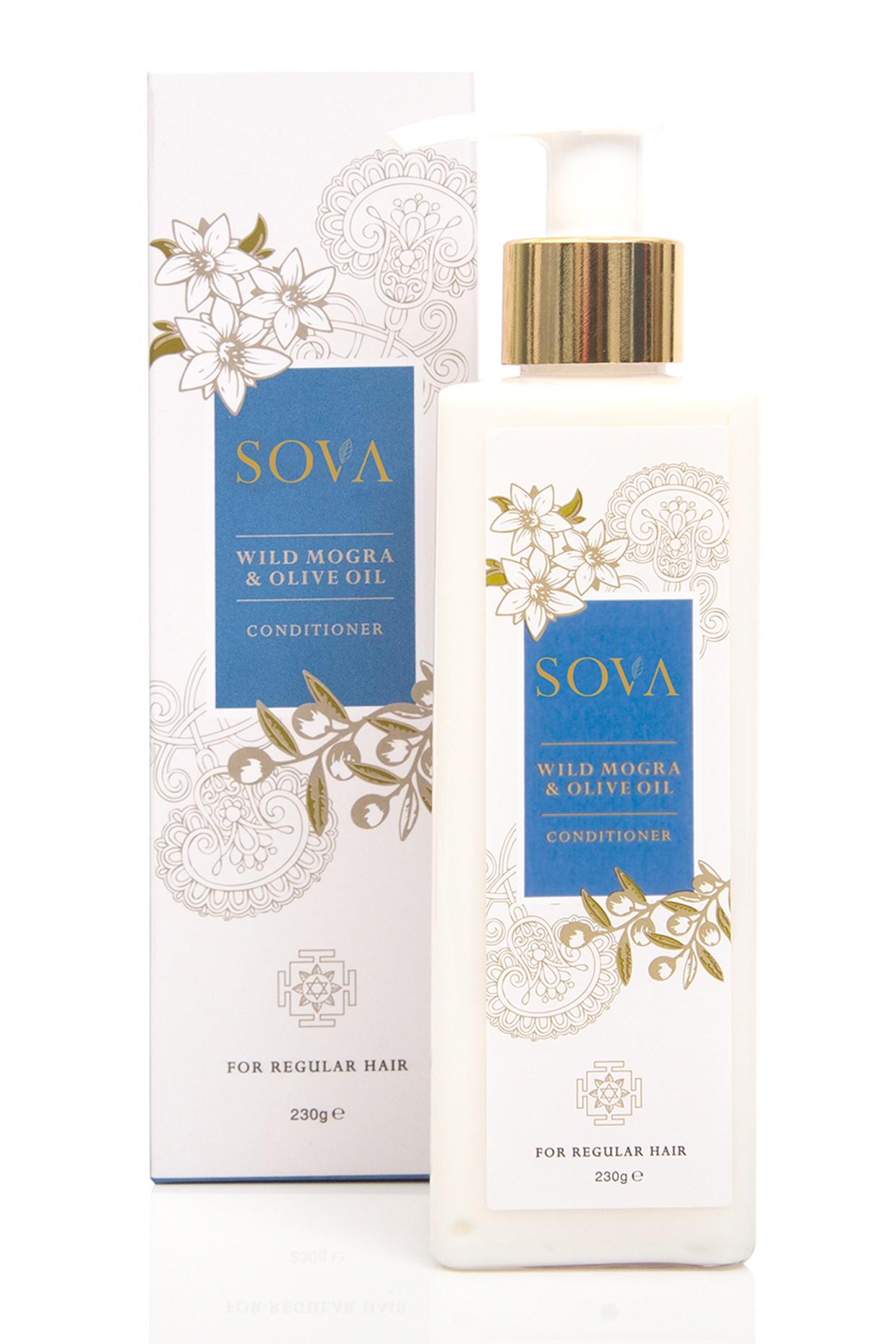Olive Oil & Wild Mogra Conditioner For Regular Hair by SOVA