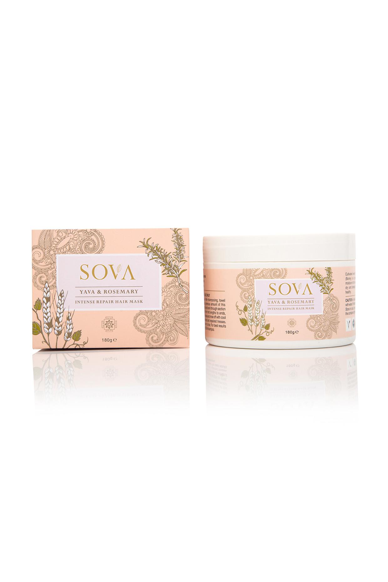 Rosemary & Yava Intense Repair Hair Mask For All Hair Types by SOVA