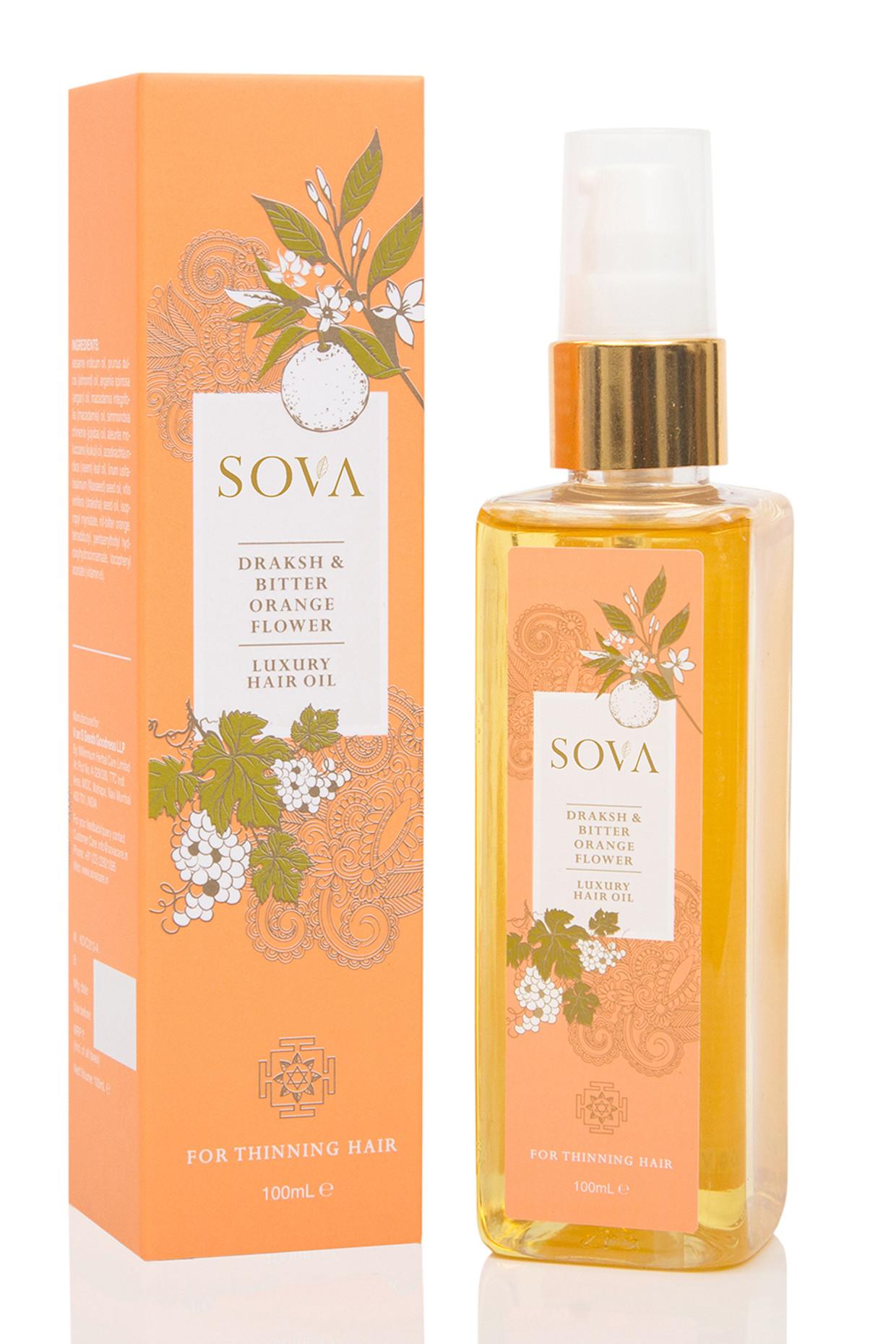 Bitter Orange & Draksh Luxury Hair Oil by SOVA
