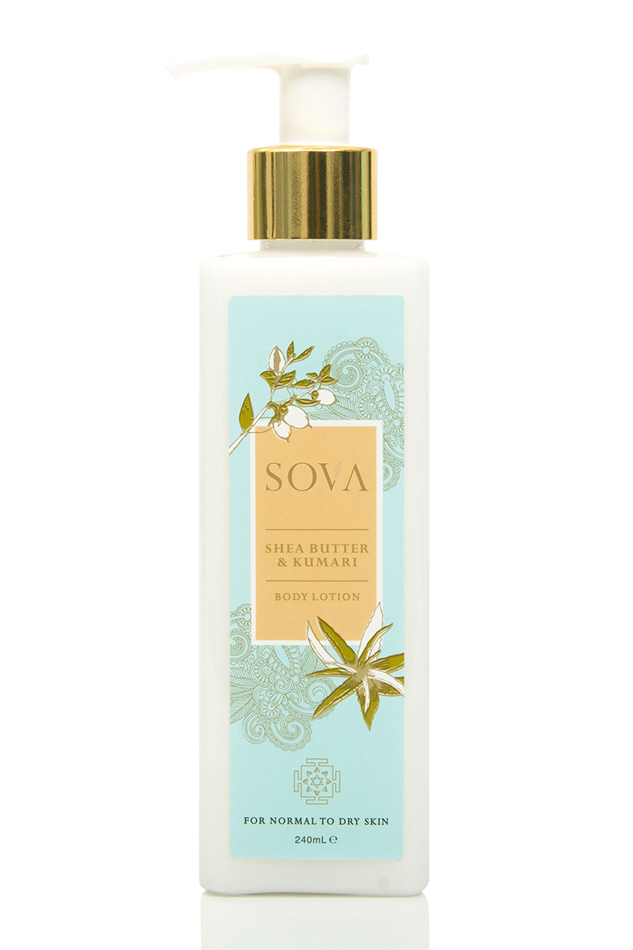 Kumari & Butter Body Lotion For Normal to Dry Skin by SOVA