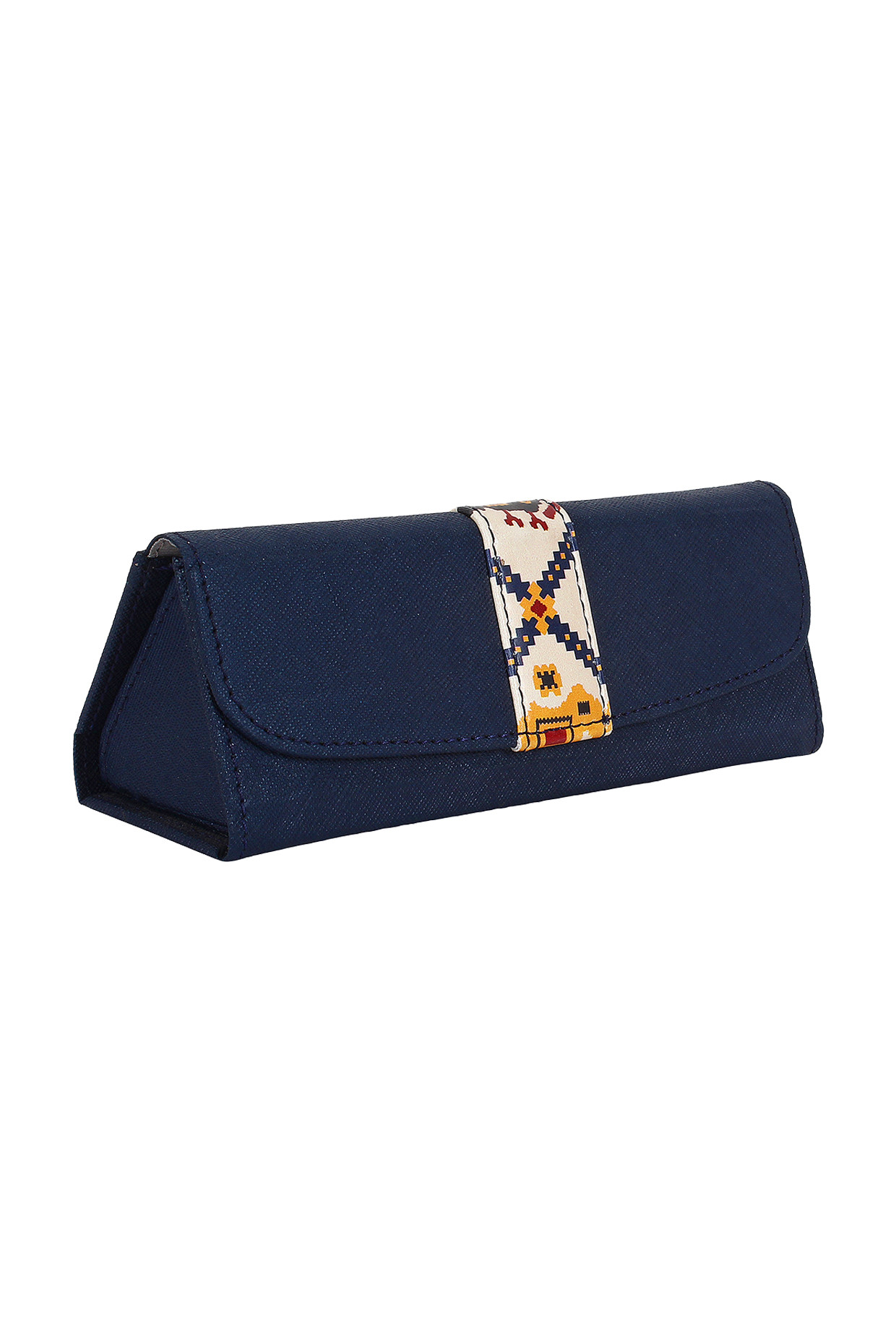 Blue Printed Spectacle Case by Imars